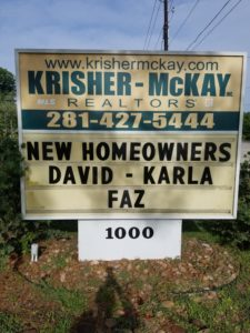 Congratulations!  New Homeowners!